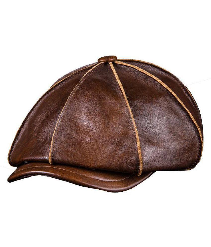 Generic brown Cotton Hats