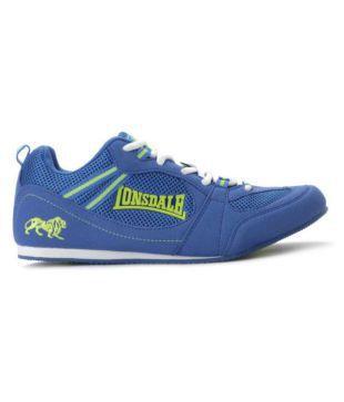 Lonsdale Men Blue Running Shoes - Buy
