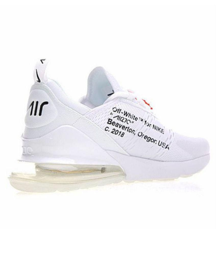 Nike AIR 270 Off White Running Shoes