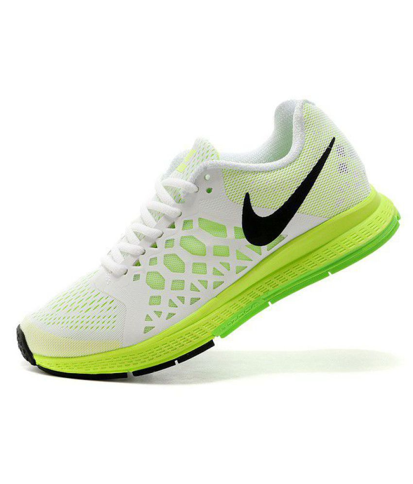 info for 29098 dbaae ... Nike Zoom Pegasus 31 White Running Shoes ...