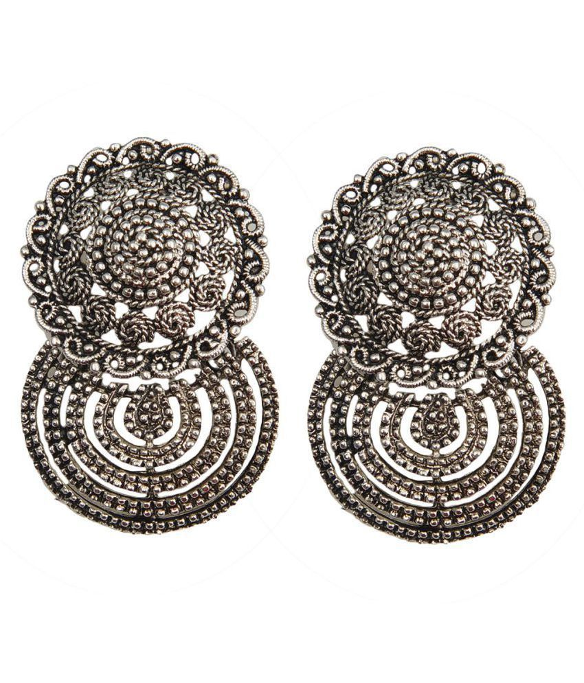 Taj Pearl Hanging Earrings