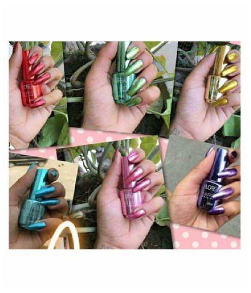 Huda Beauty Nail Polish Mirror Effect 12 Random Color Mirror Crme 15 ml