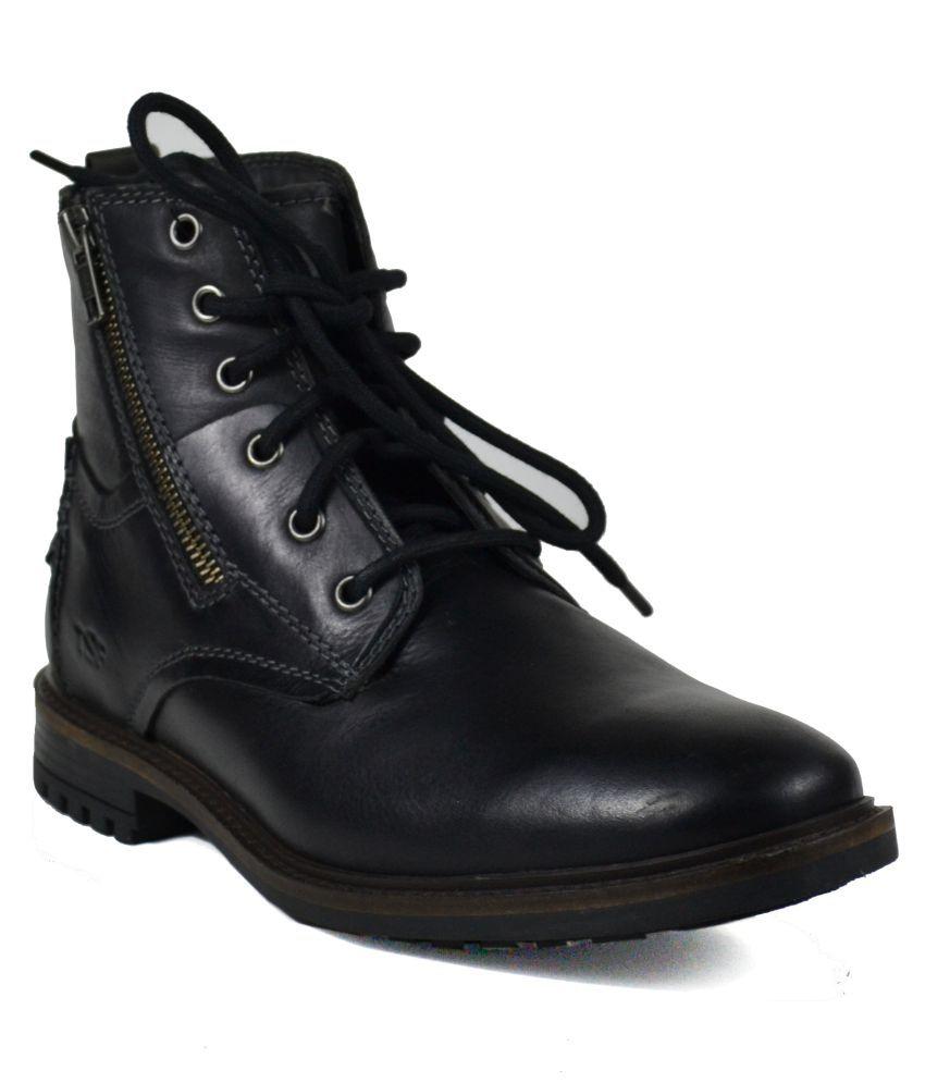 TSF Black Casual Boot