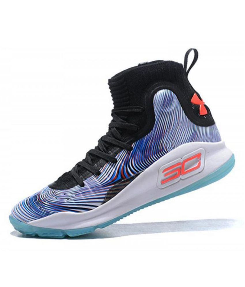 sale retailer 95733 1b3f3 Under Armour UA CURRY 4  MORE MAGIC  Multi Color Basketball Shoes - Buy Under  Armour UA CURRY 4  MORE MAGIC  Multi Color Basketball Shoes Online at Best  ...