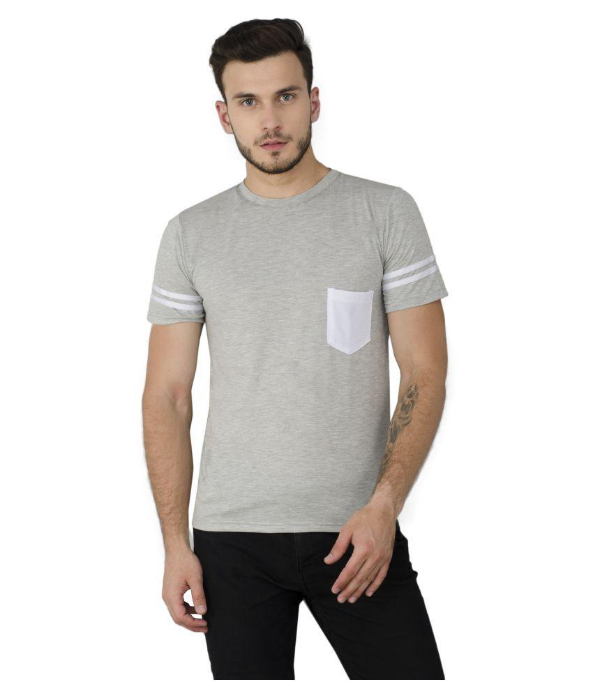 Noir & Shades Multi Half Sleeve T-Shirt Pack of 1