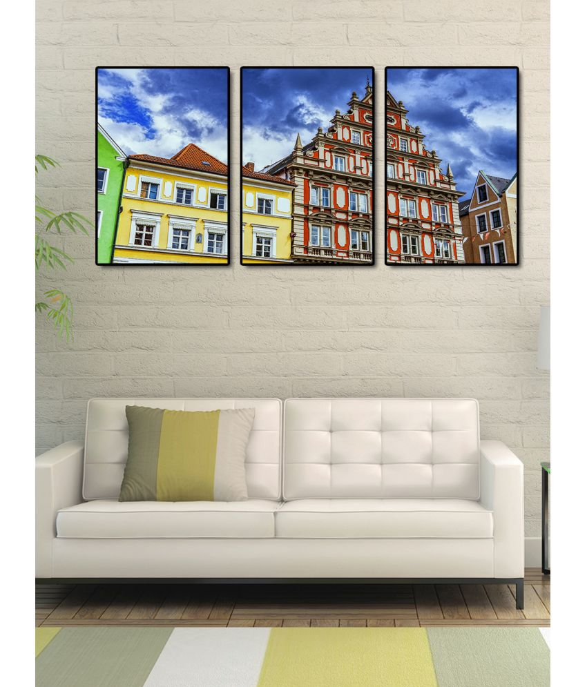 999Store   architectural building   Acrylic Painting With Frame