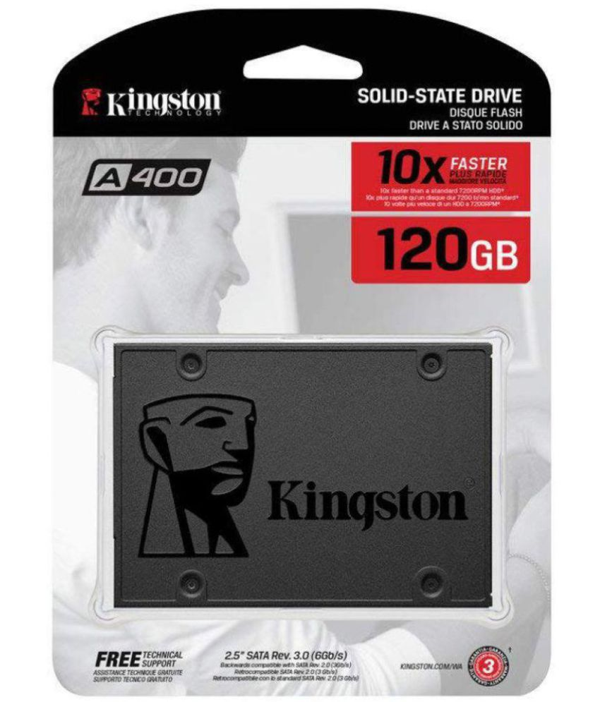 Kingston SA400S3 120 GB SSD Internal Hard drive