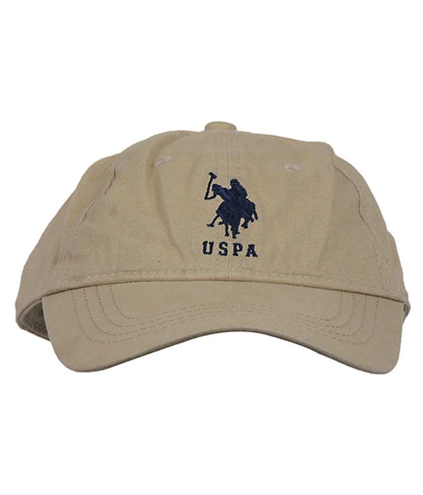 U.S. Polo Assn. Boys Beige Cap