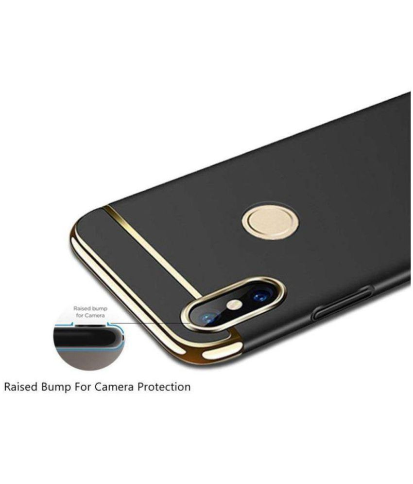 big sale 42161 5d9fc Xiaomi Mi A2 Hybrid Covers IRABLESS - Black 3-In-1 Slim Fit Double ...