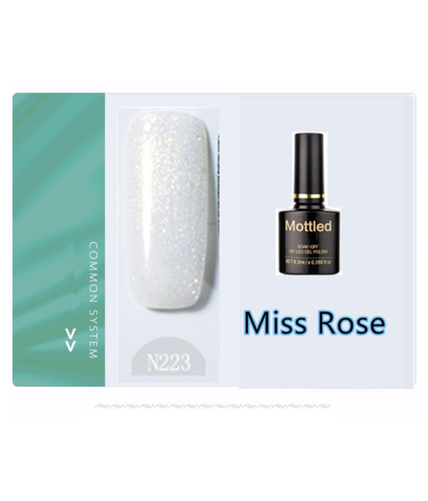 Miss Rose Nail Polish As Picure Glossy 35g gm