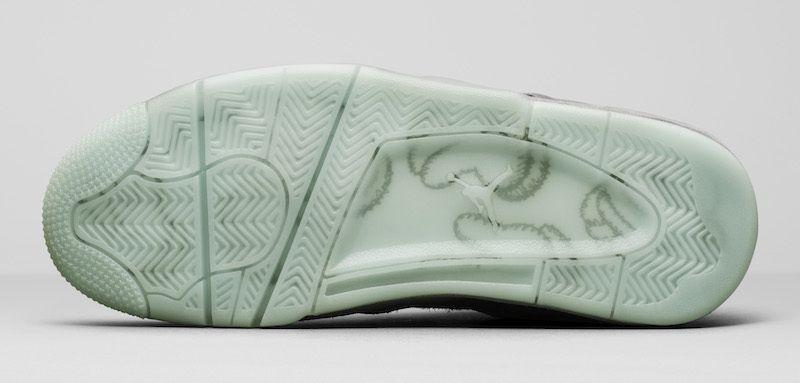 f3ab0329c168 Nike AIR Jordan 4 Kaws Gray Basketball Shoes - Buy Nike AIR Jordan 4 ...