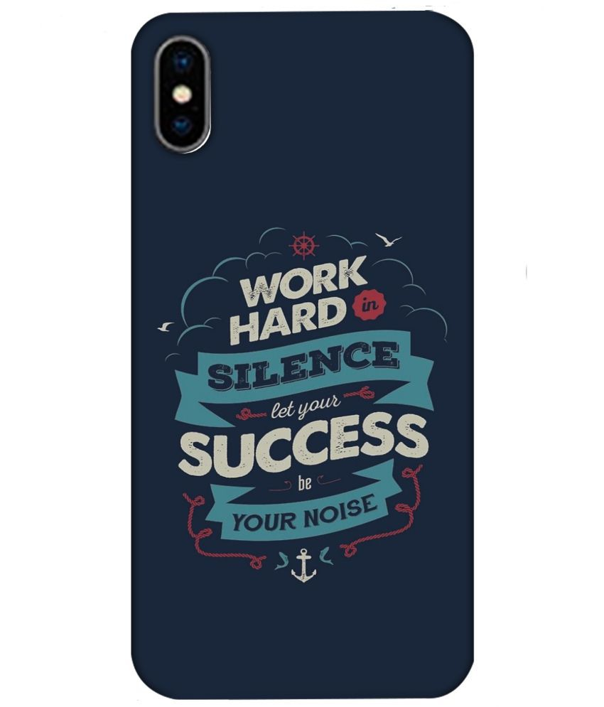 Apple iPhone X 3D Back Covers By MCC MyCaseCover High Quality Print