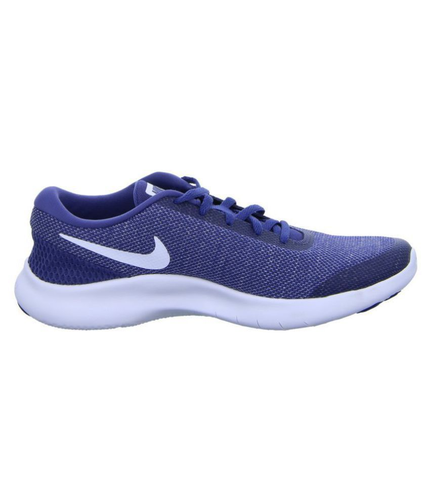 c91e48f102cc5 Nike FLEX EXPERIENCE RN 7 Blue Running Shoes - Buy Nike FLEX ...