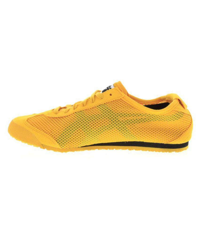 low cost 8b9b0 c440a ONITSUKA TIGER Onitsuka Tiger Mexico 66 Mesh Sneakers Yellow Casual Shoes