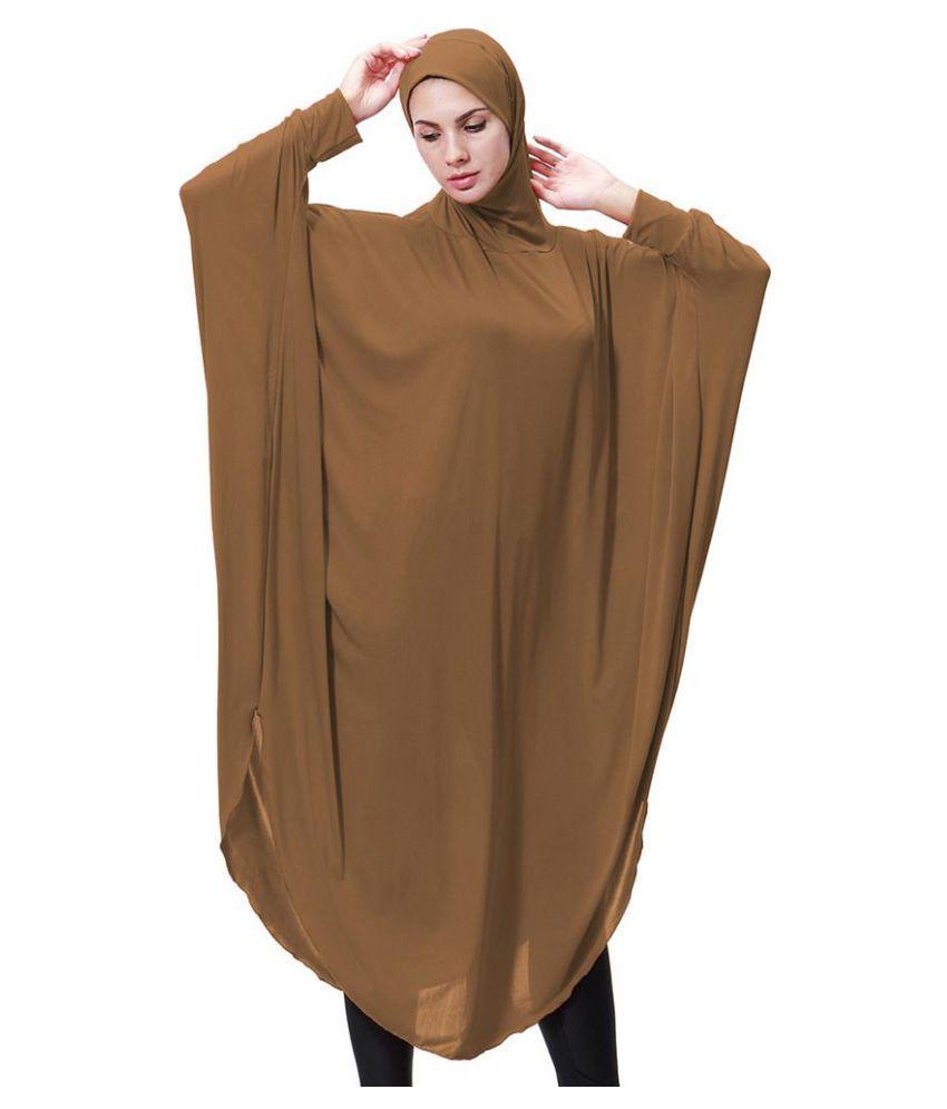 a0befb336bae1 Arab Muslim Women Long Islamic Abaya Ramadan Robe Kaftan Gown Plain with  Hijab - Buy Arab Muslim Women Long Islamic Abaya Ramadan Robe Kaftan Gown  Plain ...