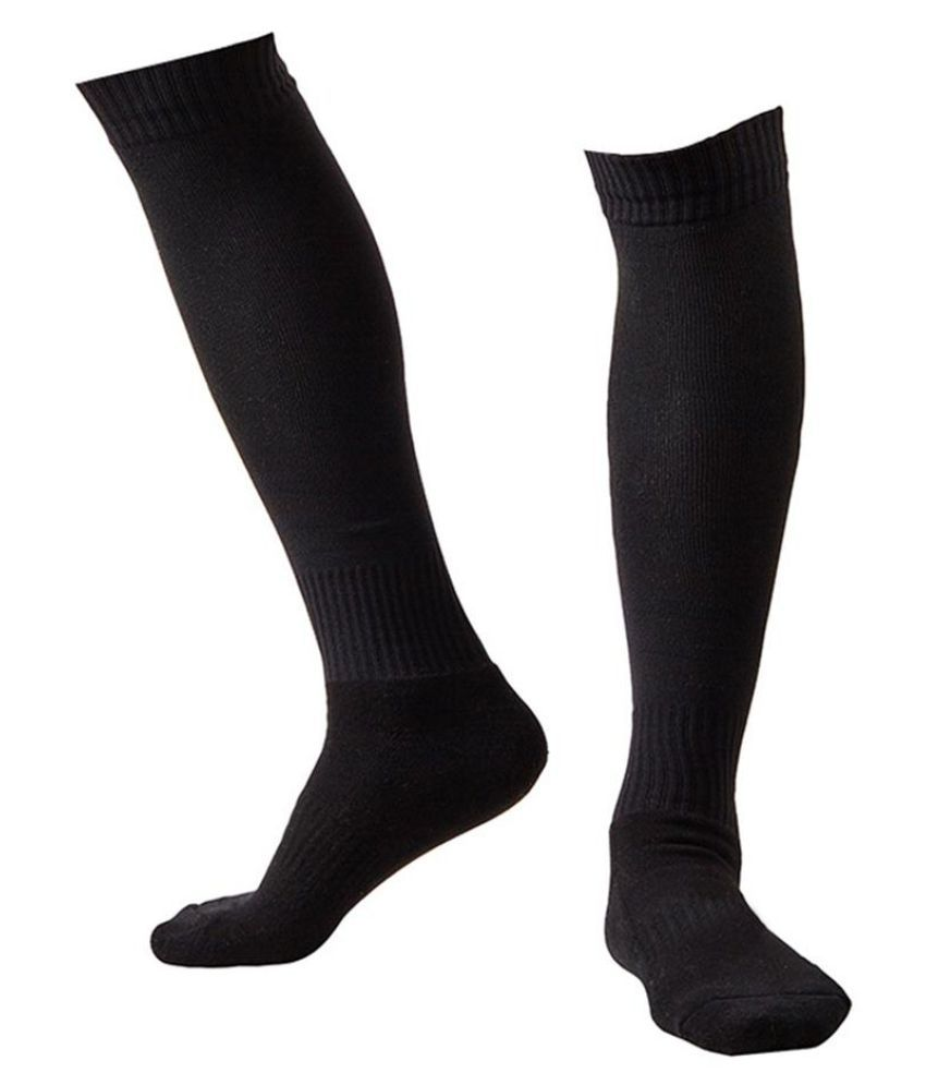Generic black Sports Ankle Length Socks