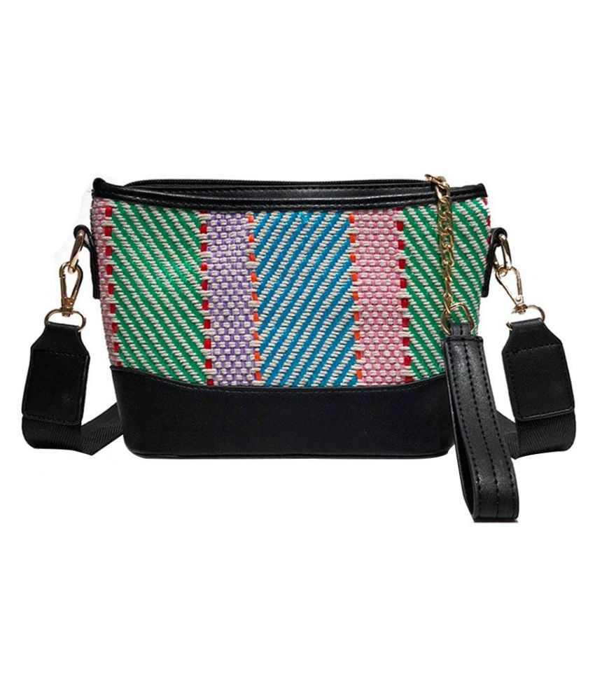 Generic green Canvas Shoulder Bag