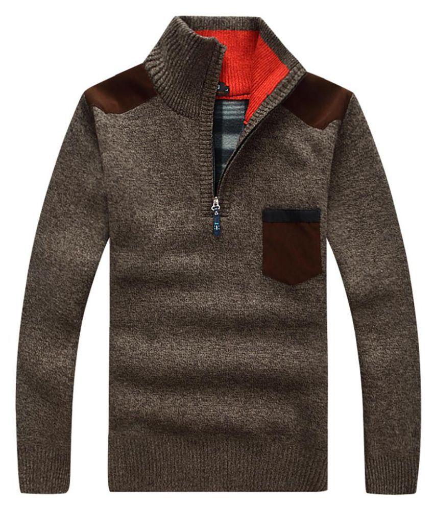 Generic brown Half Sleeve T-Shirt