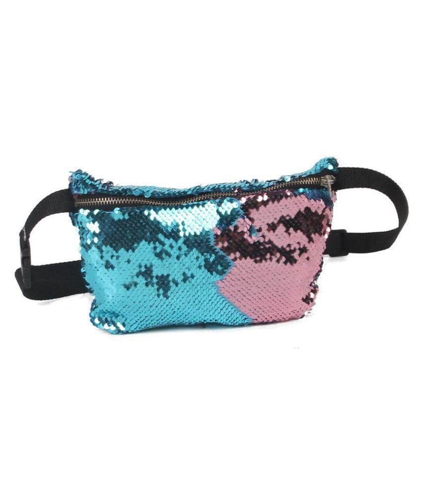Generic blue Canvas Shoulder Bag