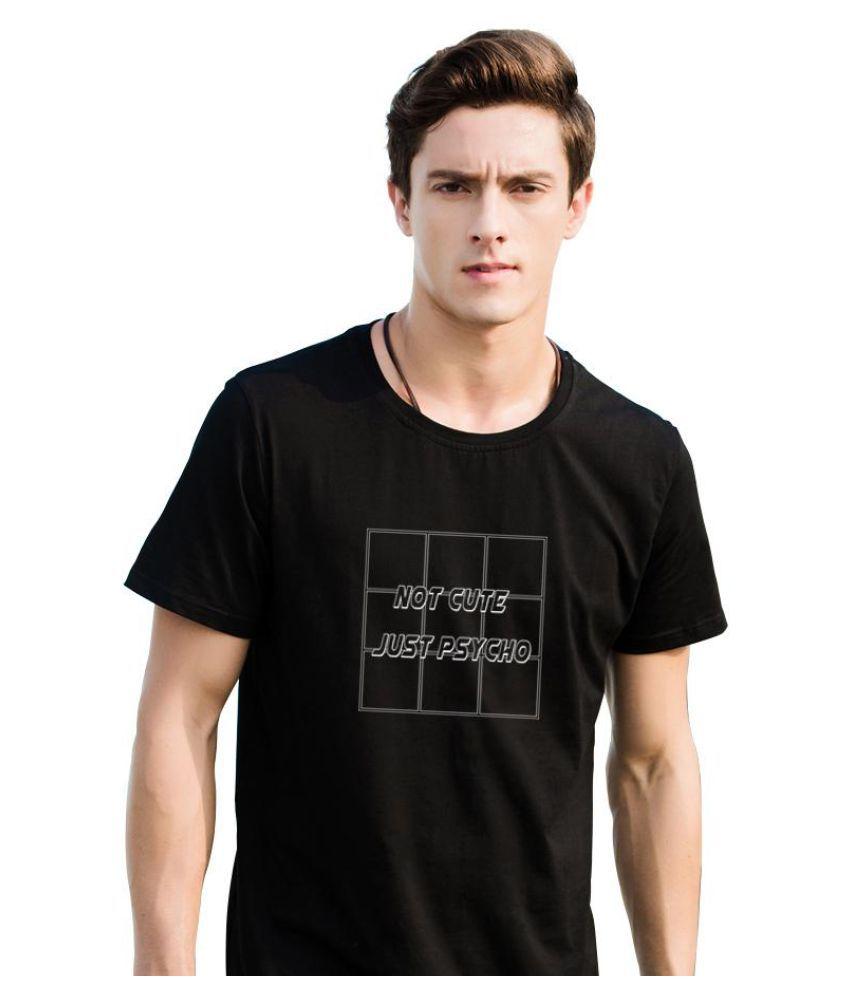 Generic black Half Sleeve T-Shirt