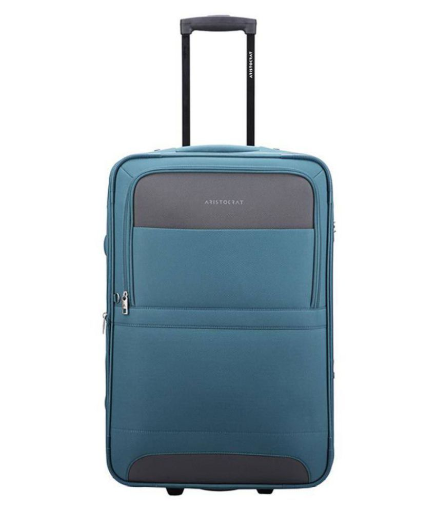 Aristocrat Green M( Between 61cm-69cm) Check-in Soft COROLLA Luggage