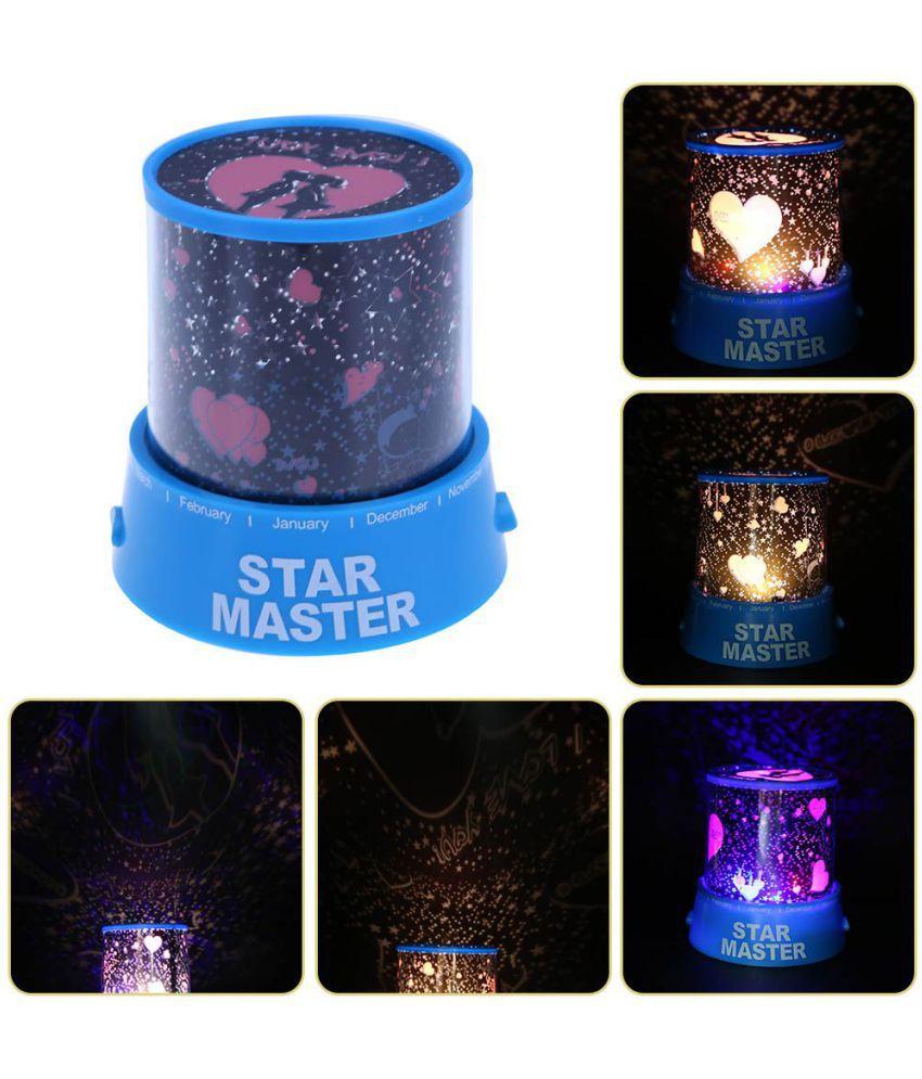 crobat LOVE SPECIAL NIGHT LAMP Night Lamp Blue - Pack of 1