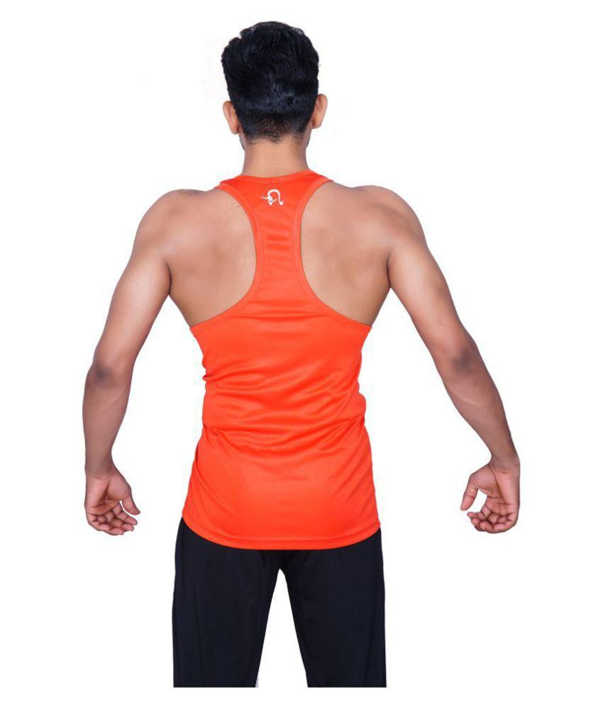 VAIZARA ACTIVE PRINTED SPORTS STINGER VEST