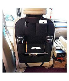 Gaze Me Multi Pocket Organizer for Front Seat Side Black