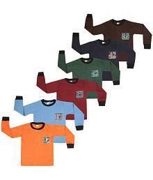 34520c27b5520b Quick View. SR Kids Boys Cotton Full Slevee Tshirts (Pack ...