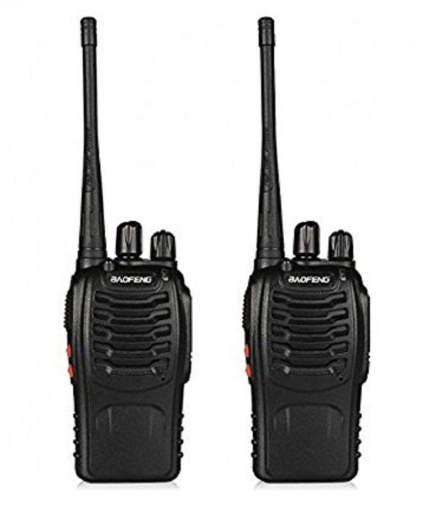 Baofeng Bf-888S Two-Way Radios Walkie-Talkies Long Range Handheld Radios Pack of 2