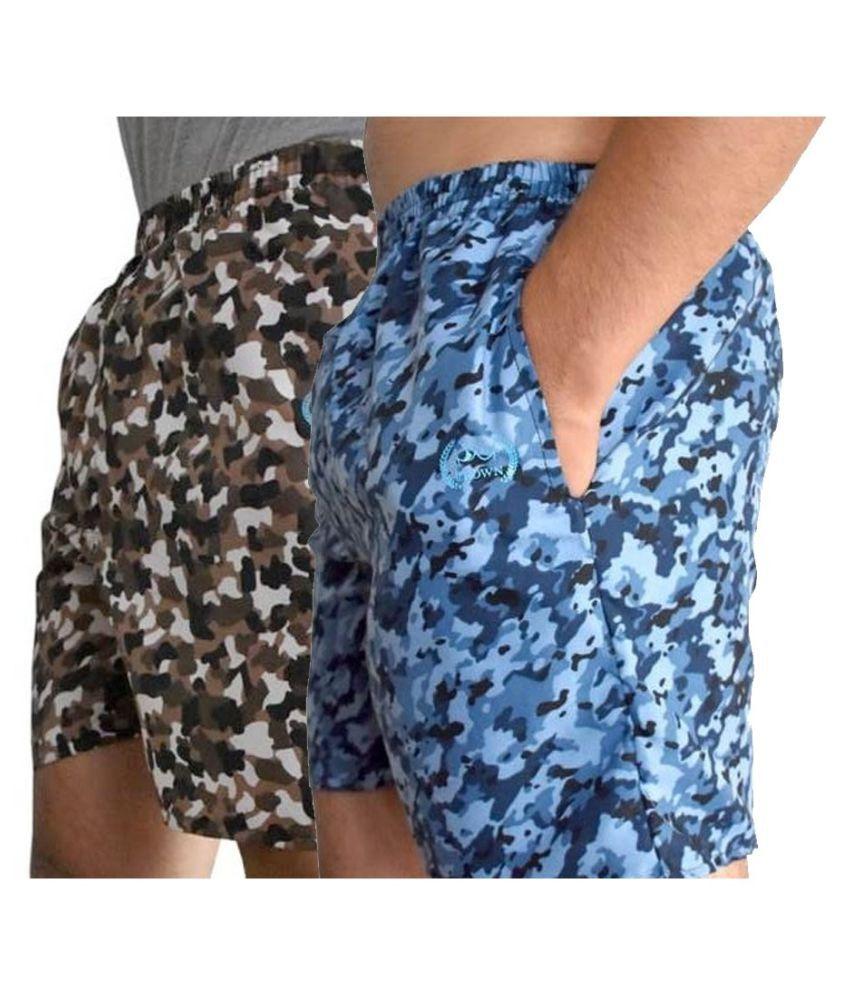 Crown Multi Shorts