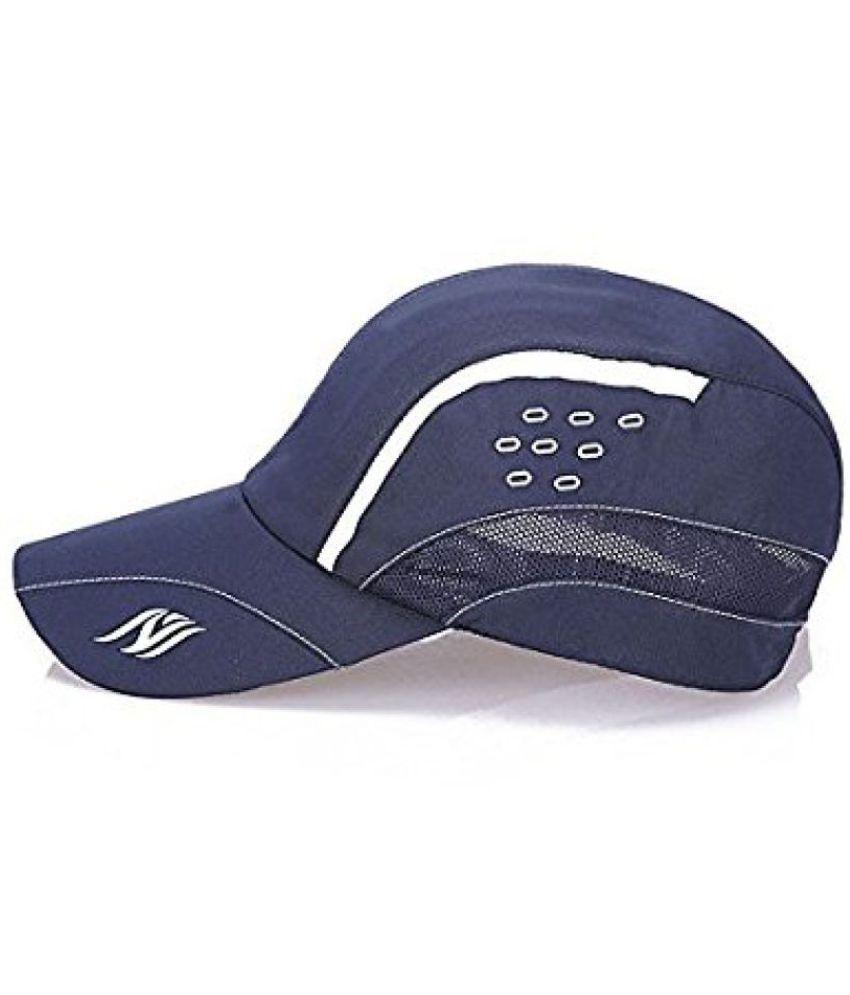 2b7ddf76b40 ... Handcuffs Stylish Baseball cap Adjustable strap Navy Blue Cap For Men  Women ...