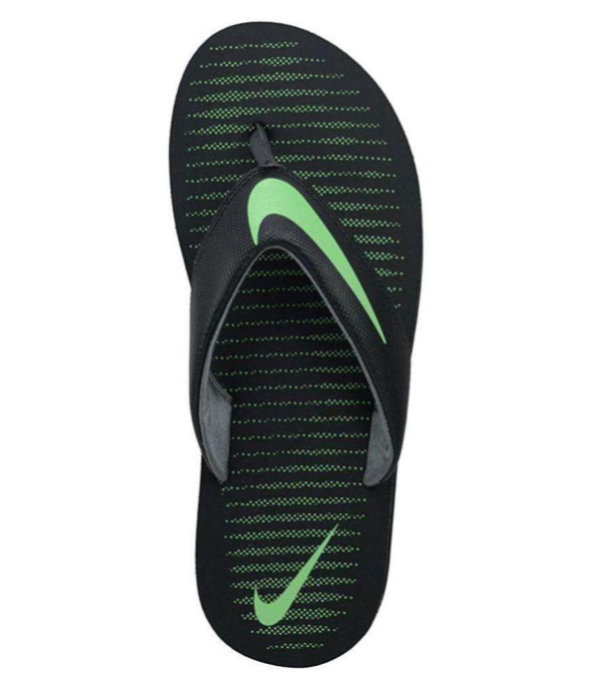 301ad4282 Nike Green Thong Flip Flop Price in India- Buy Nike Green Thong Flip Flop  Online at Snapdeal