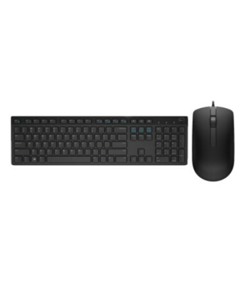 e9658eaa6cb Dell KB216 Multimedia USB Wired Keyboard + Dell MS116 USB Wired Optical  Mouse Combo (Black) - Buy Dell KB216 Multimedia USB Wired Keyboard + Dell  MS116 USB ...