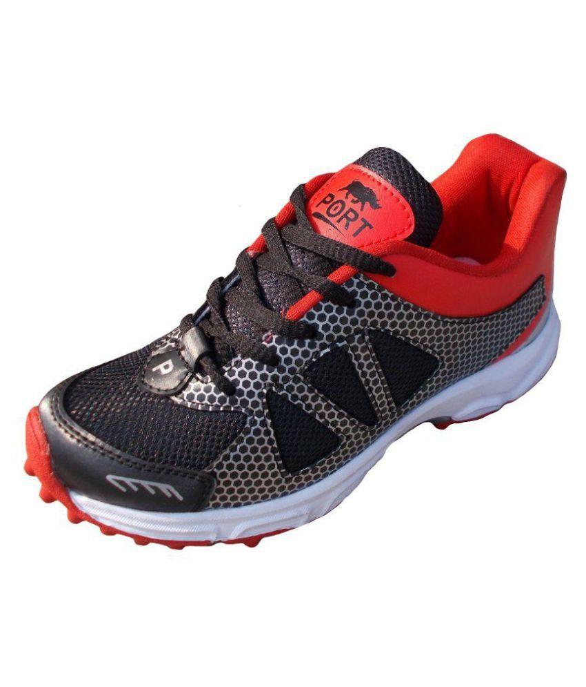 Comex Red Football Shoes