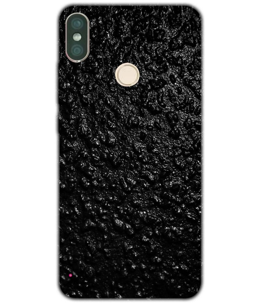 d3b0158aba Xiaomi Redmi Note 5 Pro Printed Cover By Jaz Deals Black Background Print  Hard Cover