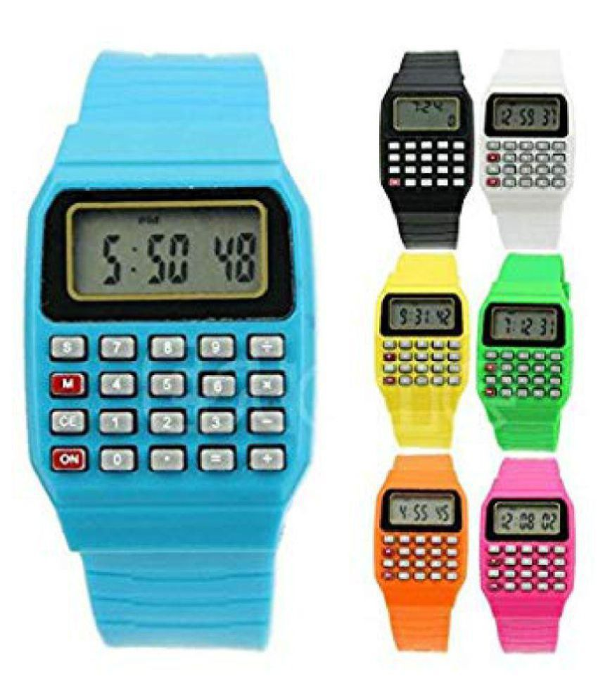 EEMWAY Kids Birthday Return Gift Calculator Watch Pack Of 12 Buy Online At Best Price In India