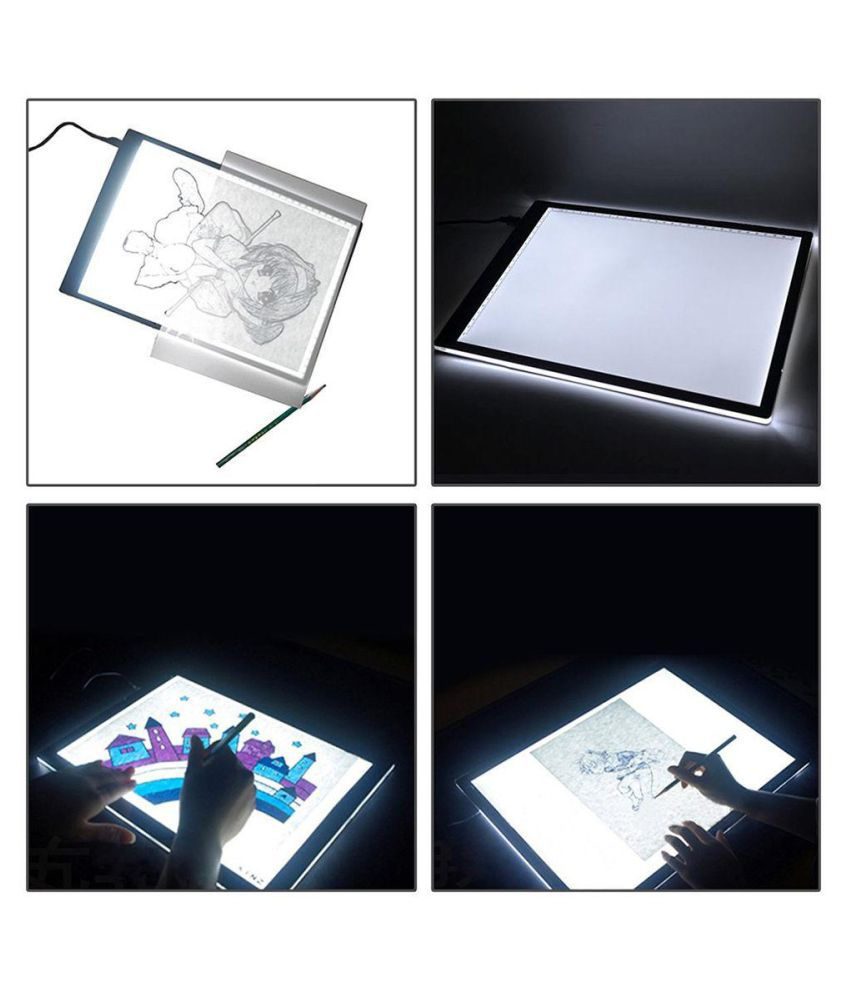1 A4 Led Light Box Artist Thin Art Stencil Board Tracing Drawing