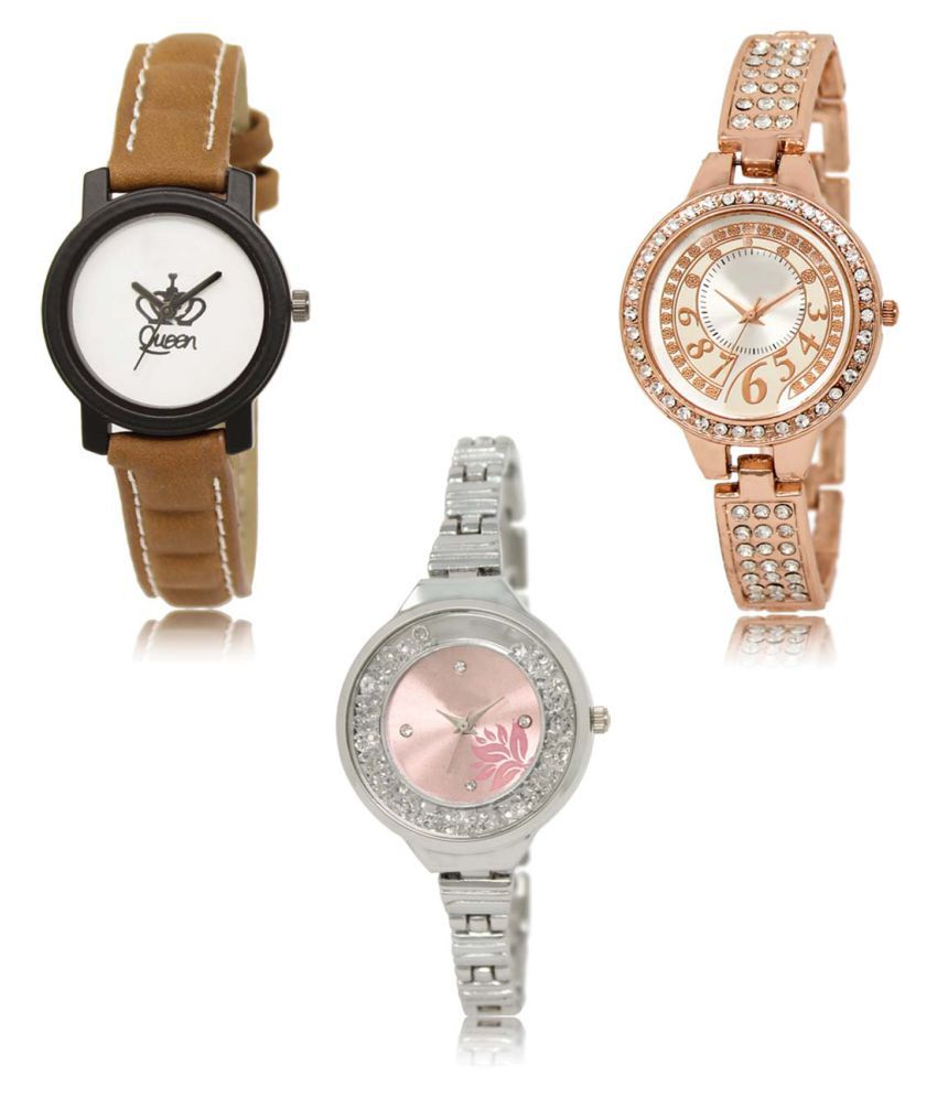 Analog Exclusive Mens Watches Combo of 3 LR209-216-226