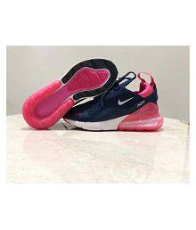 Nike Air Max 270 Navy Blue Womens Running Shoes
