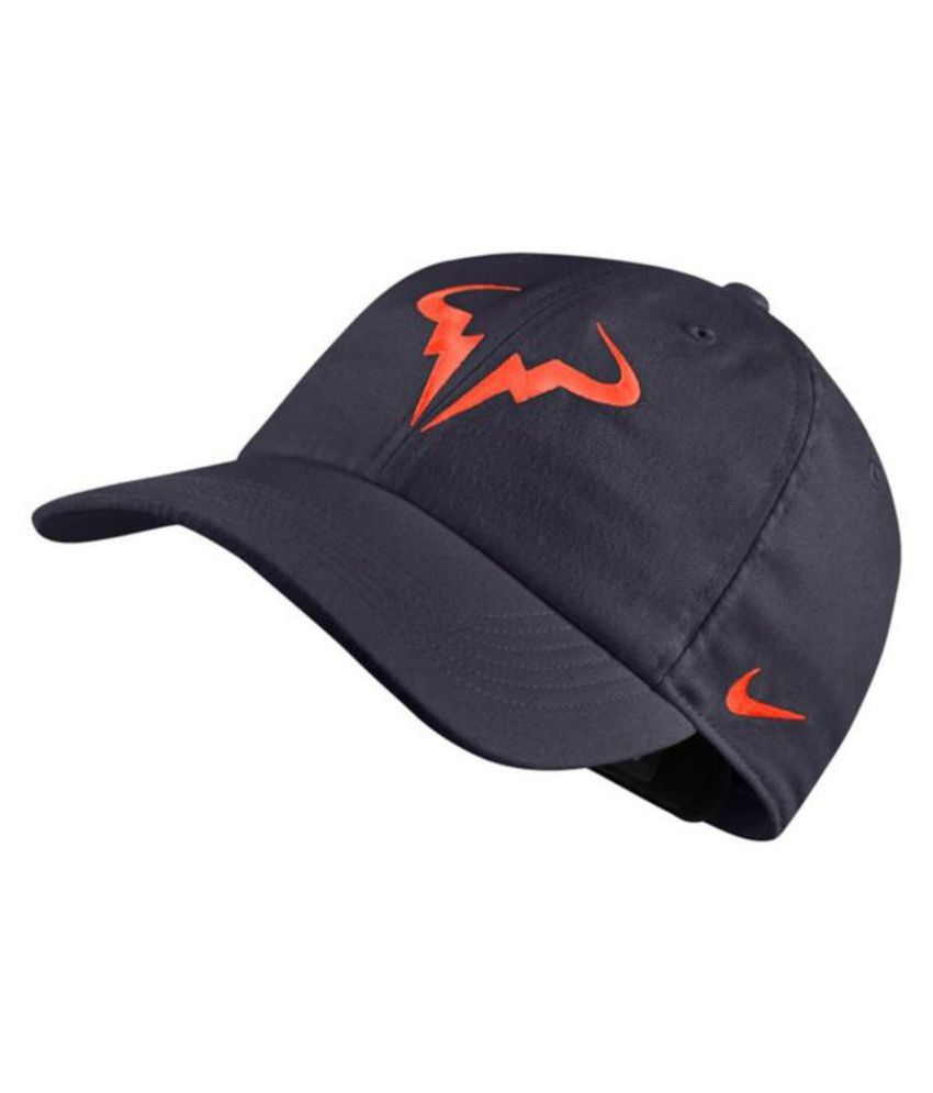 70201d11d94 Nike Blue Embroidered Polyester Caps - Buy Online   Rs.