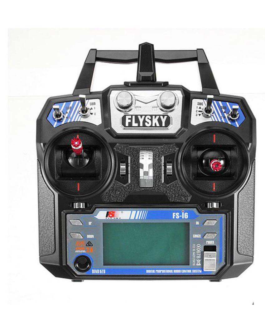 FlySky FS-i6 2 4G 6CH AFHDS RC Transmitter With FS-iA6B