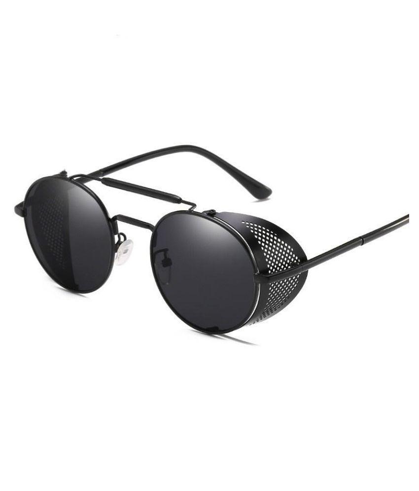 Generic Black Round Sunglasses ( unknown )