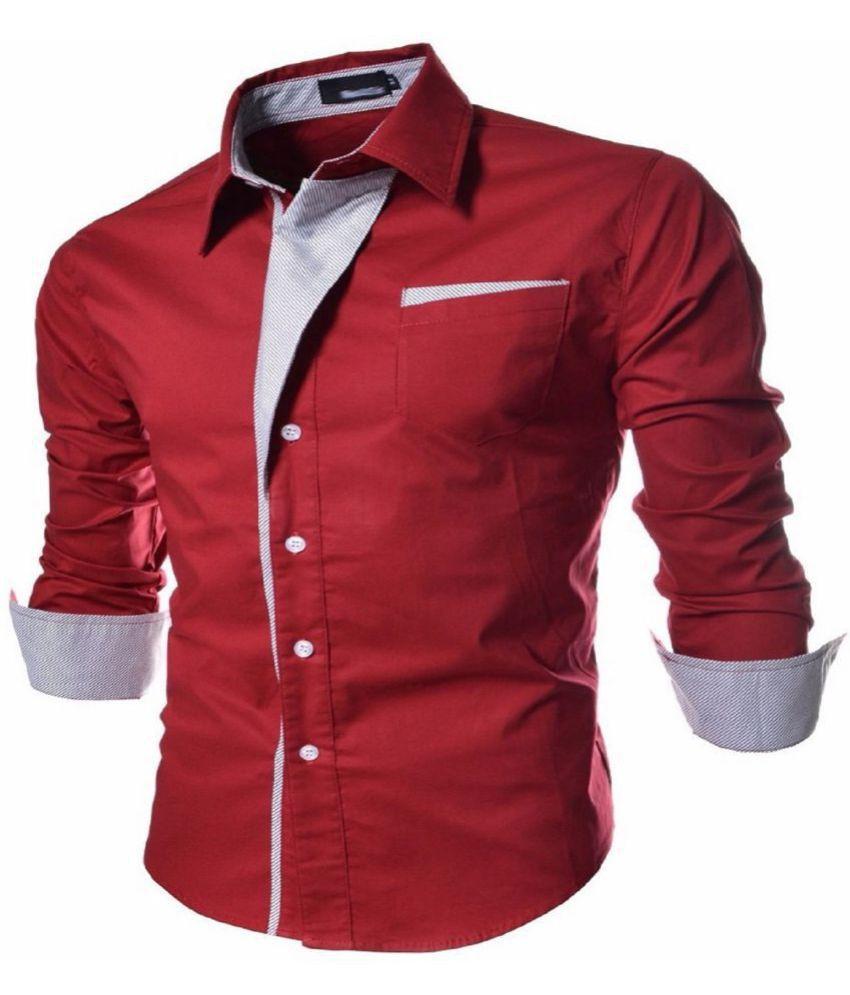 Ud Fabic Satin Shirt