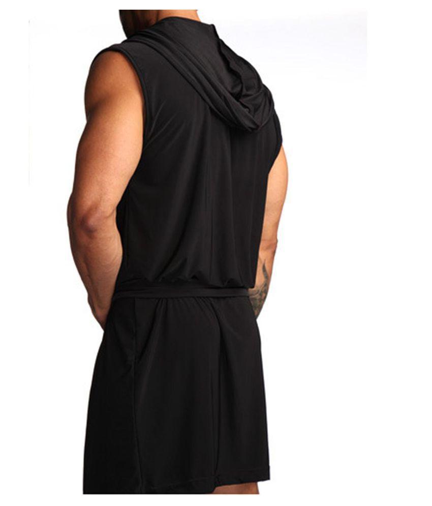 Generic Silk Robes - Black