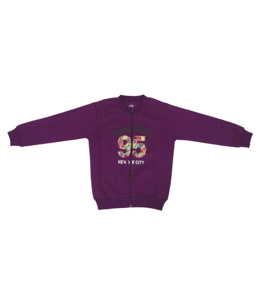 Li'l Tomatoes Purple Girls Sweat Shirt