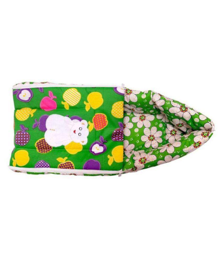 SpringLoom Multi-Colour Cotton Sleeping Bags ( 38 cm × 70 cm)