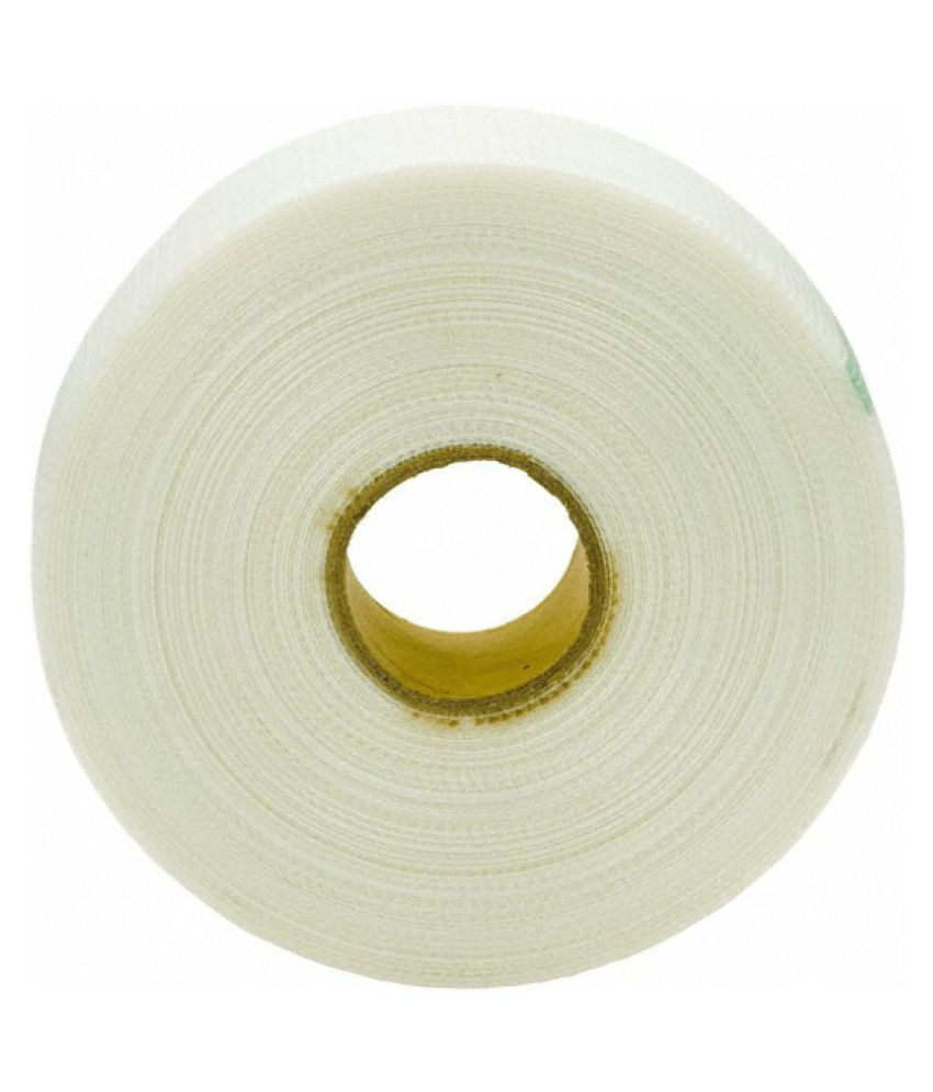 Bapna White Fibre Glass Wall Adhesive Tape