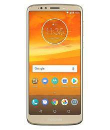 Motorola E5 Plus (5000 mAh Battery) ( 32GB , 3 GB ) Gold