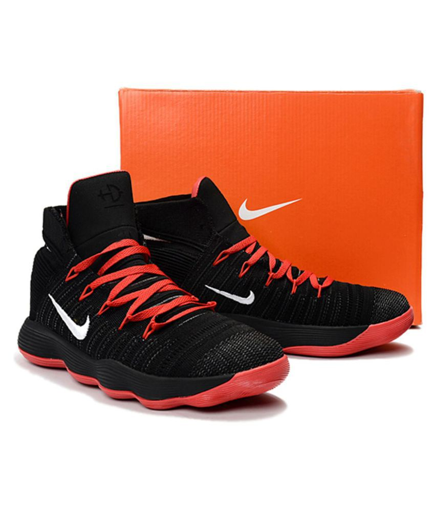 3a27f21a2896 Nike HYPERDUNK 2017 FLYKNIT Black Basketball Shoes - Buy Nike HYPERDUNK 2017  FLYKNIT Black Basketball Shoes Online at Best Prices in India on Snapdeal